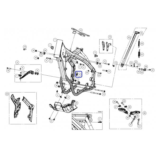 Muelle Pedal de Freno EC 2014