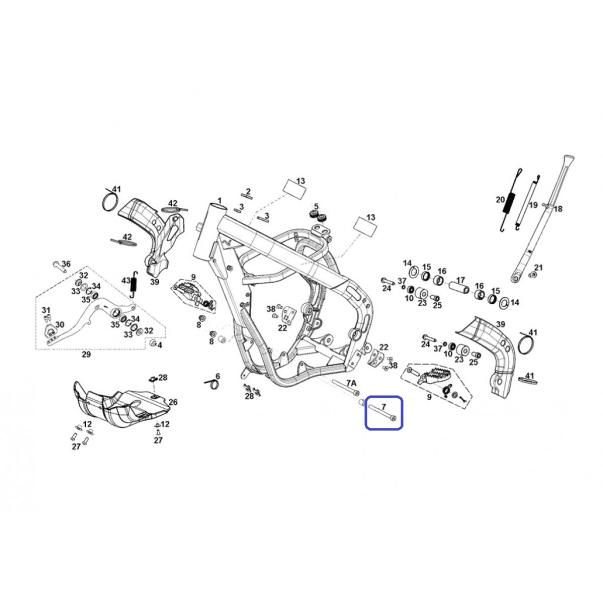 Allen M10X120