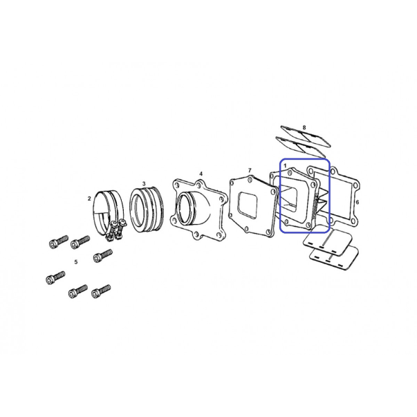 Caja de Láminas V-force EC 250/300 05-13