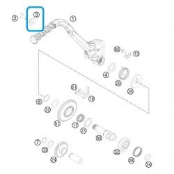 Arandela Cónica Pedal Arranque 8 mm