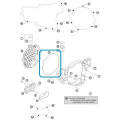 Junta tapa discos embrague Ktm 250/300 2T 04-13 SX 250 2T 03-13