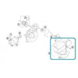 Tapa Motor Arranque KTM 2T