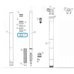 Casquillo friccion suspension sachs 49/47