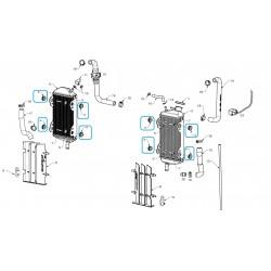 Silenblock radiador
