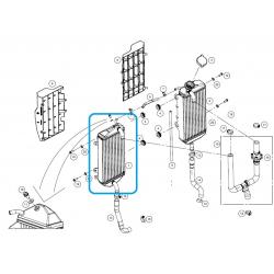 Radiador Izquierdo Gas Gas EC 250/300 2018