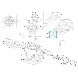 Torica tubera de escape GAS GAS 44x3 fp