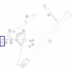 Tornillo M6X12 KTM EXC 125/250 98-08 SX 85 03-10 SX 125/250 94-08