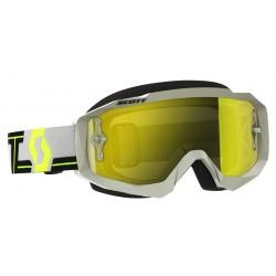 Gafas Scott Hustle Mx Gris/Amarillo Espejo