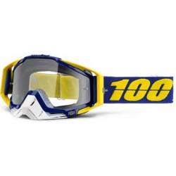 Gafas 100% Racecraft Lindstrom Transparente