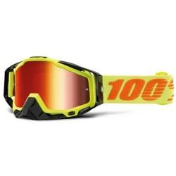Gafas 100% Racecraft Attack Yellow mirror