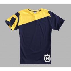 Camiseta Husqvarna Inventor Amarillo