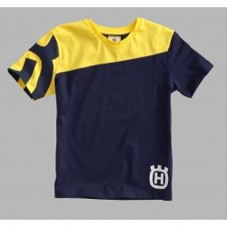 Camiseta Infantil Husqvarna Inventor Amarillo