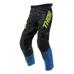 Pantalón Thor S9 Pulse Acid Air Azul Eléctrico/Negro