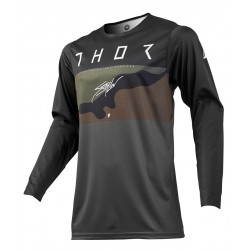 Jersey Thor S9 Prime Pro Fighter Gris/Camo