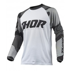 Jersey Thor S9 Sector Camo Gris/Blanco