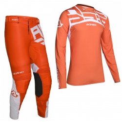 Set Acerbis X-Flex Andromeda Naranja/Blanco