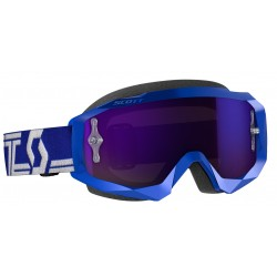 Gafas Scott Hustle X Mx Azul/Blanco Mirror