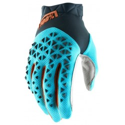 Guantes 100% Airmatic Gris/Azul/Bronce