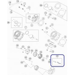 Válvula Escape KTM SX 65 09-14