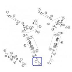 Válvula Escape KTM LC4 640 03-06