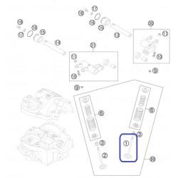 Válvula Admisión KTM EXC Racing 4T 400 00-07 450/525 03-07 520 00-02