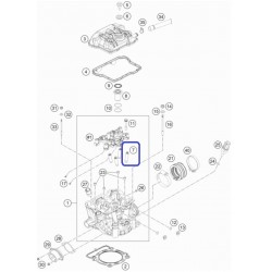 Válvula Admisión KTM EXC-F 350 12-13 SX-F 250 2013 SX-F 350 11-12 Husaberg FE 350 13-15