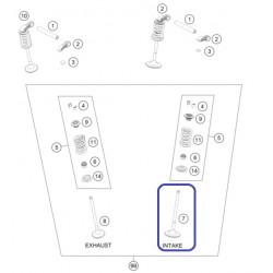 Válvula Admisión KTM EXC-F 350 12-19 SX-F 350 11-19