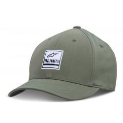 Gorra Alpinestars Stated Verde Militar