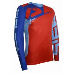 Jersey Acerbis Edición Especial Seiya MX Rojo/Azul