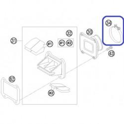 Brida Goma Admisión Caja de Láminas KTM EXC 125 94-16 EXC 250/300 98-16 Husqvarna TE/TC 125/250 14-16 TE 300 14-16