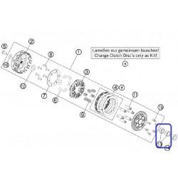 Cojinete Agujas 18X24X12A KTM SX 50 09-16