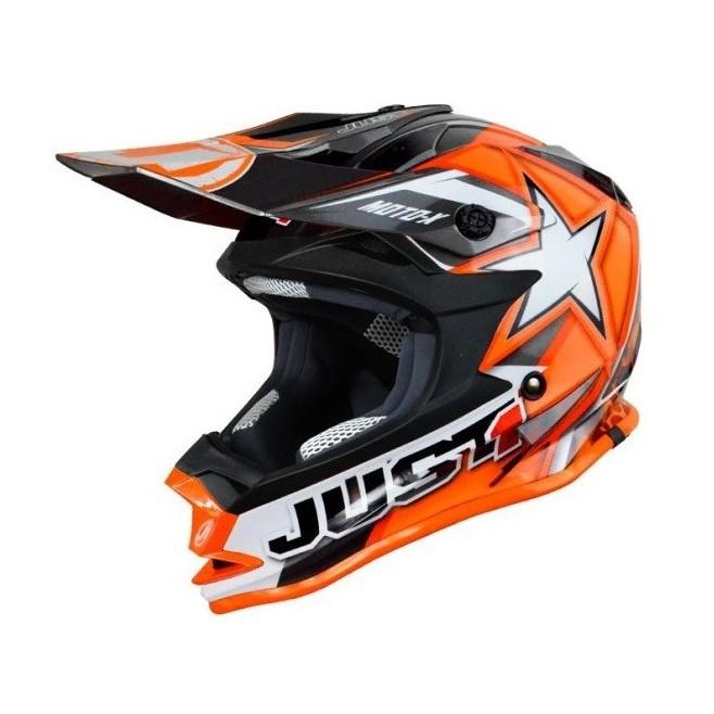 Casco Just1 J32 Moto X Naranja