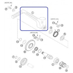 Pedal Arranque KTM EXC 250/300 04-06 EXC-F 250/450 Racing 03-06 SX 250 03-06 SX-F 250 05-06