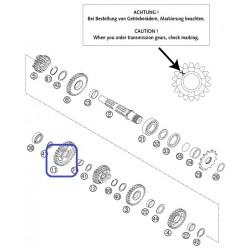 Piñón Transmisión Secundaria KTM SX 125/250 11-12 Husqvarna TC 125 14-15 Z-32