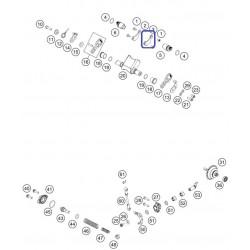 Pletina Sujeción KTM EXC 125 00-02 EXC 200 00-07 EXC 250/300 04-07