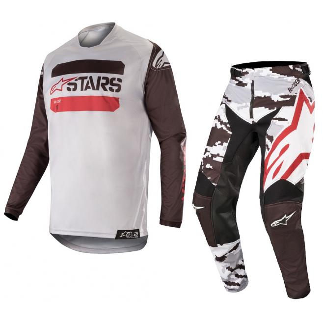 Set Alpinestars Racer Tactical 2019 Gris Camo