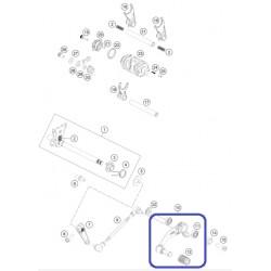 Pedal Cambio KTM Duke 125/200/250/390