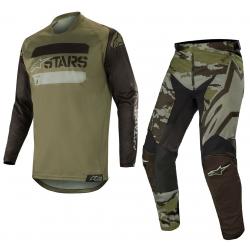 Set Alpinestars Racer Tactical 2019 Verde Camo
