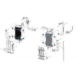 Casquillo inferior sujecion radiador