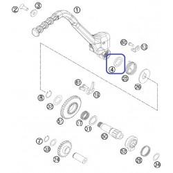 Retén Pedal Arranque 19X30X7 KTM EXC 250/300 99-06 SX 50 16-18 SX 85 18-19 SX 125 16-19 SX 250 98-18