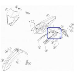 Portamatrículas KTM EXC/EXC-F 2020