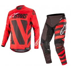 Set Alpinestars Racer Braap 2019 Negro/Rojo/Blanco