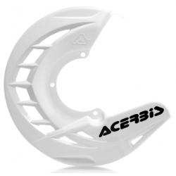 Protector Disco Delantero Acerbis X-Brake Blanco