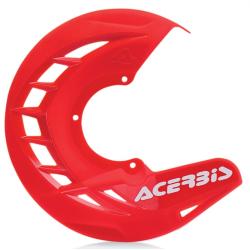 Protector Disco Delantero Acerbis X-Brake Rojo