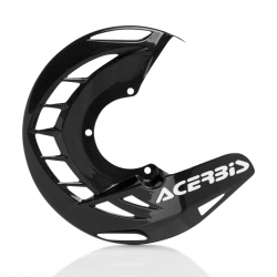 Protector Disco Delantero Acerbis Carbon X-Brake KTM SX 125 11-15 Kawasaki KX 250 11-12 Negro