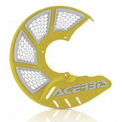 Protector Disco Delantero Acerbis X-Brake 2.0 Vented Amarillo/Blanco