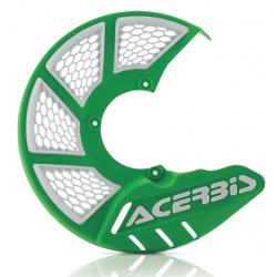 Protector Disco Delantero Acerbis X-Brake 2.0 Vented Verde/Blanco