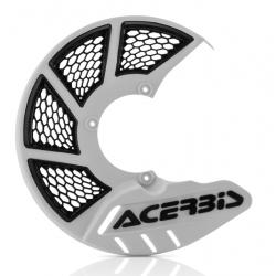 Protector Disco Delantero Acerbis X-Brake 2.0 KTM SX 85 09-17 Husqvarna TC 85 09-17 Blanco/Negro
