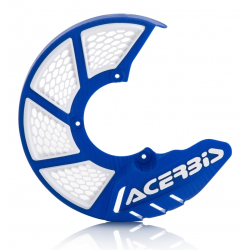 Protector Disco Delantero Acerbis X-Brake 2.0 KTM SX 85 09-17 Husqvarna TC 85 09-17 Azul/Blanco