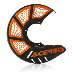 Protector Disco Delantero Acerbis X-Brake 2.0 KTM SX 85 09-17 Husqvarna TC 85 09-17 Negro/Naranja